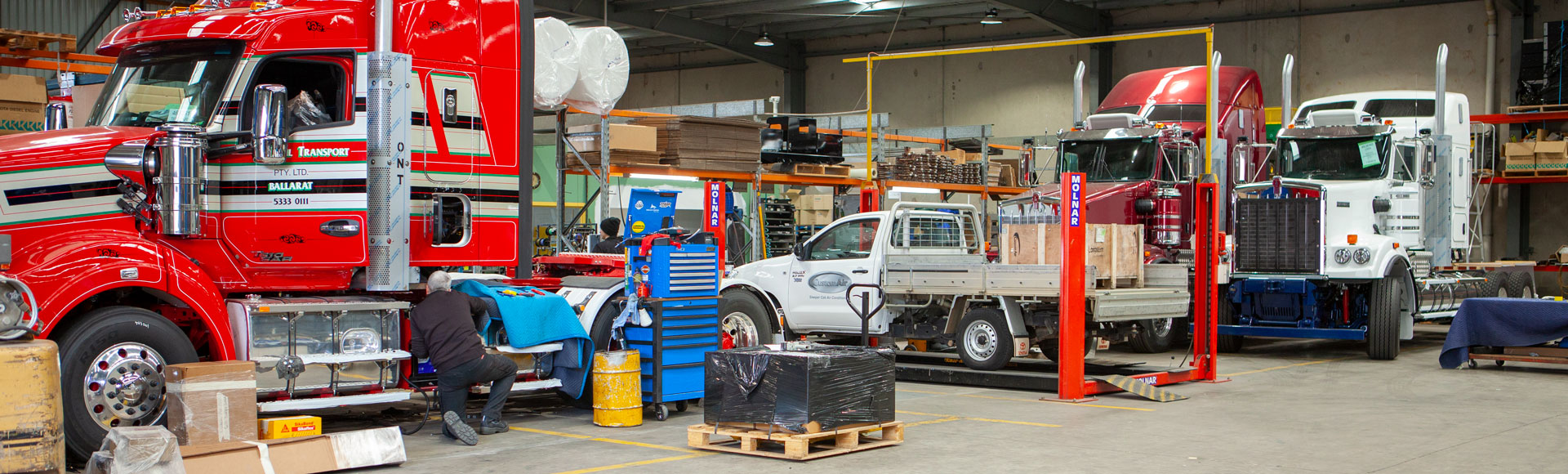 CustomAir - World-Renowned Sleeper Cab Air Conditioning Experts